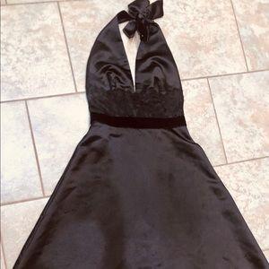 White house/black market satin  dress New no tag